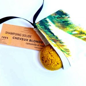 Shampoing solide bio cheveux blonds- IDMOS