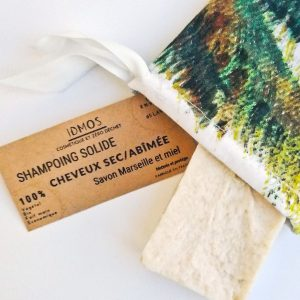 Shampoing solide bio secs ou abîmés- IDMOS