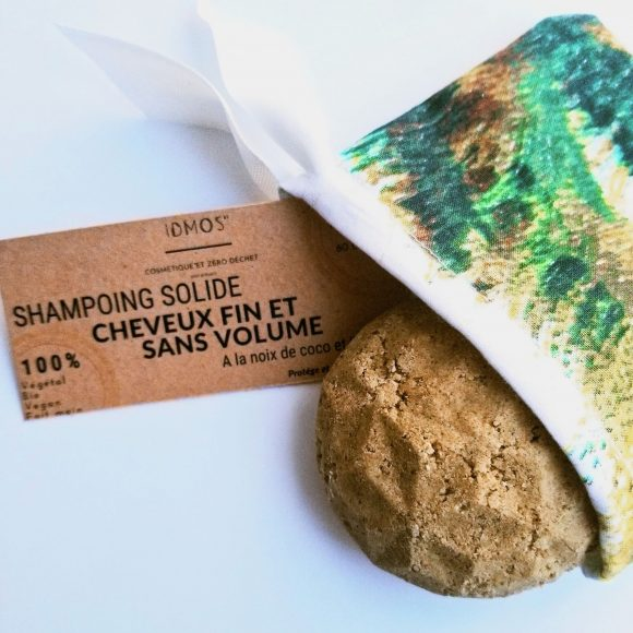 shampoing solide bio spécial fins et sans volume de IDMOS