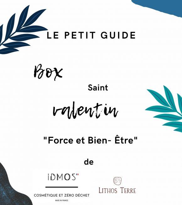 """BOX zéro déchet de Saint-Valentin """"Force et Bien-être"""""""