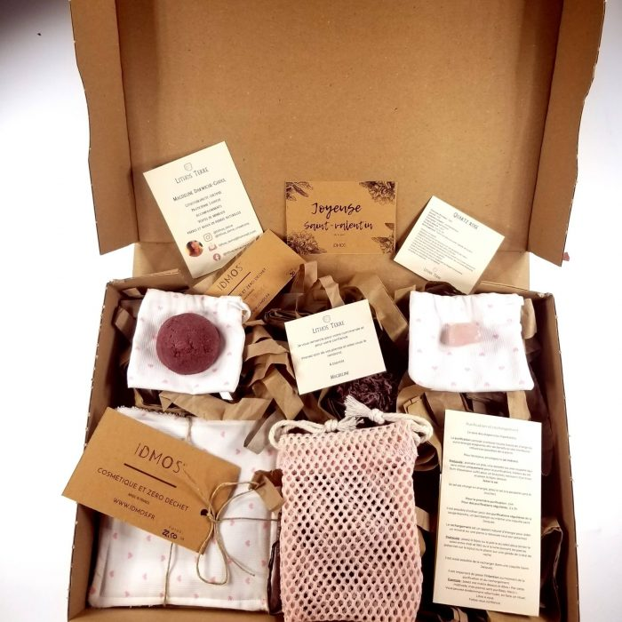 Box zéro déchet de saint- valentin